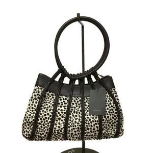 New BRUNO MAGLI $340 pony hair handbag